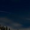 International Space Station over Ketchum, Idaho