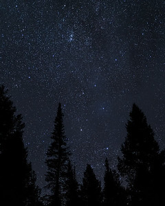 Night Sky Over Idaho