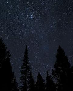 Night Sky Over Idaho