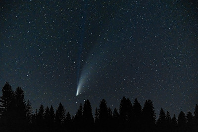 Comet Neowise Sun Valley Idaho