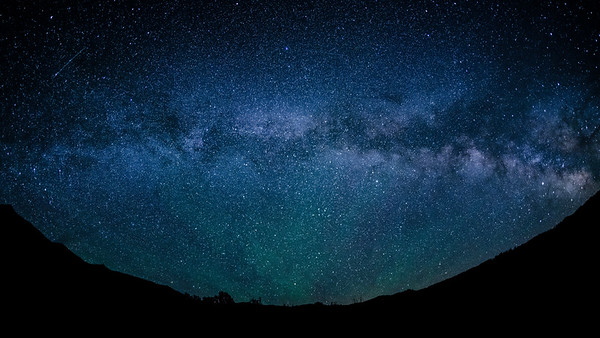 Milky Way, Phantom Hill, Idaho