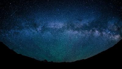 Milky Way, Phantom Hill, Idaho