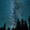 Milky Way Over Idaho