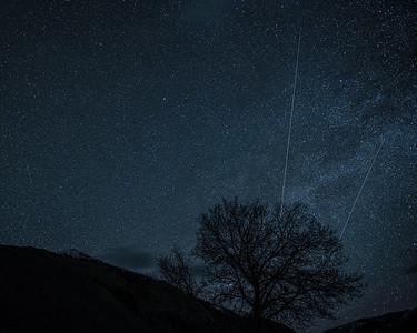 Lyrid Meteor Shower, #1,  Sun Valley, Idaho