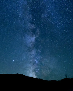Milky Way Over Greenhorn Gulch, Idaho