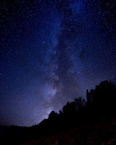 Milky Way Over Galena Pass, Idaho