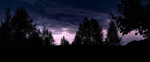 Midnight Lightning, Sun Valley, Idaho
