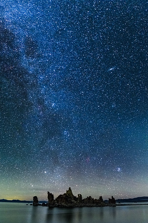 Milky Way at Mono Lake II