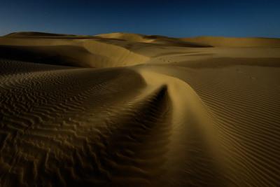 Dune Under Moon 1