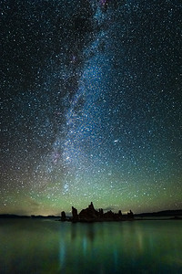 Milky Way at Mono Lake