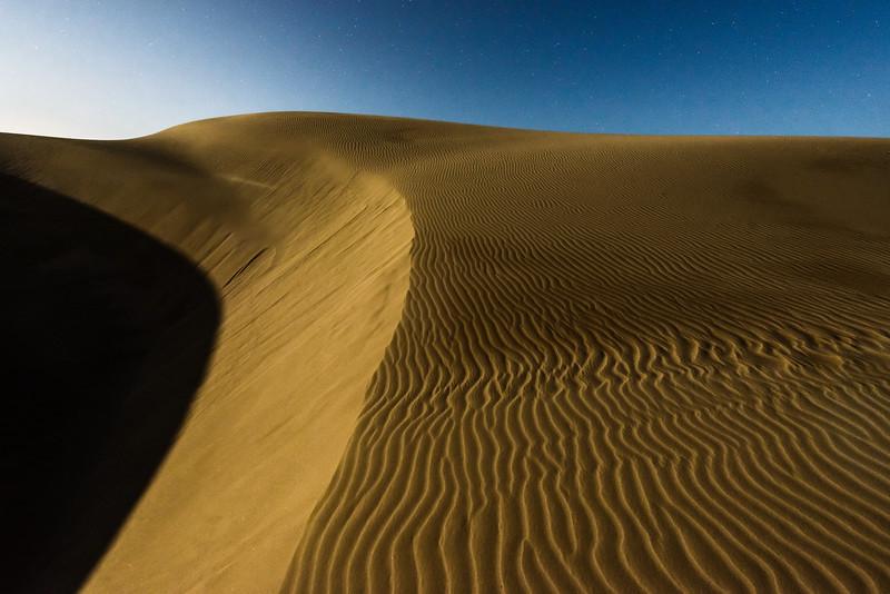 Dune Under Moon 4