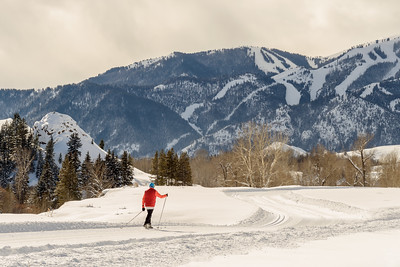 Cross Counrty Skiing in Sun Valley, Idaho