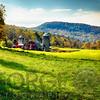 Classic American Farm View, Vermont