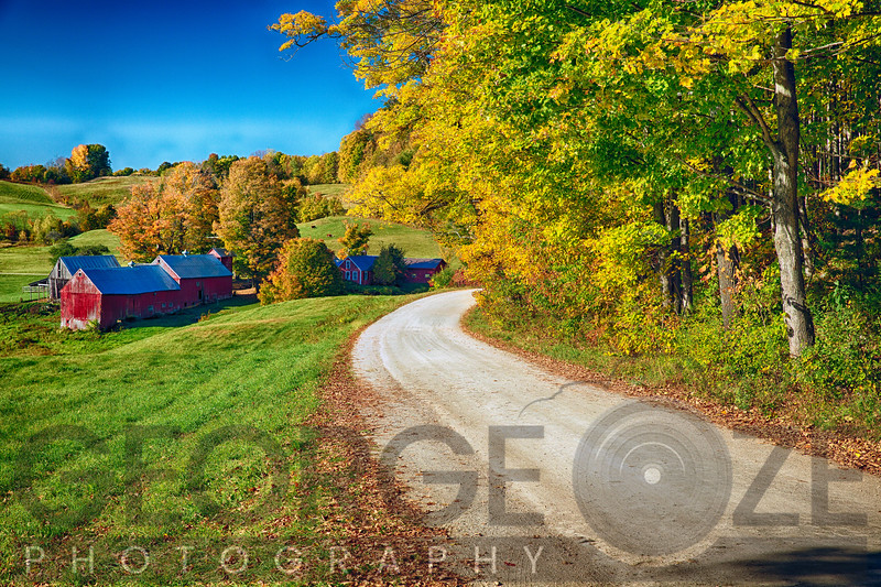 Country Road with a Farm, Vermont