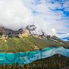Peyto Lake with Reflections, Alberta, Canada