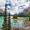 Spirit Island View, Maligne Lake, Alberta, Canada