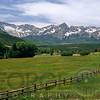 View of the San Juan Mountain Range, Rocky Mountains, Southern Colorado