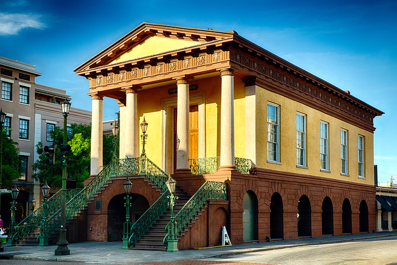 Historic Charleston City Market, South Carolina