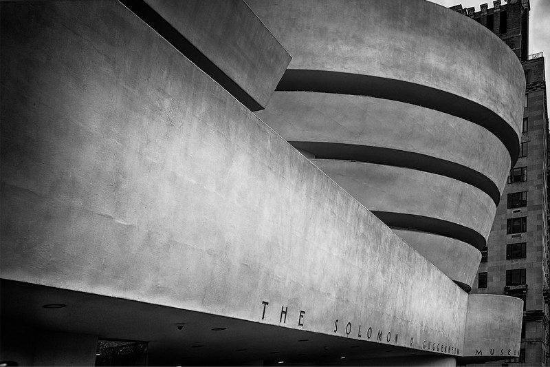 Modern Shapes of The Guggenheim