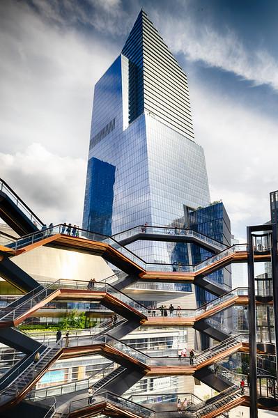 Hudson Yard with the Vessel, Manhattan, New York City