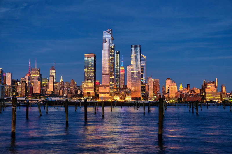 Midtown Manhattan at Dusk, New York City