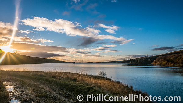 Piethorne Reservoir Sunset