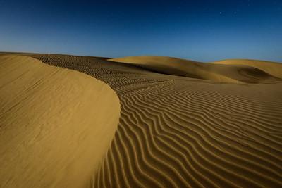 Dune Under Moon 2