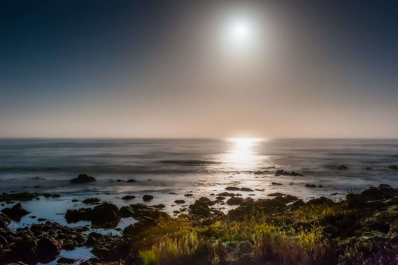 Moonset at Dawn