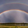 Double Rainbow over Snake River, Harriman State Park