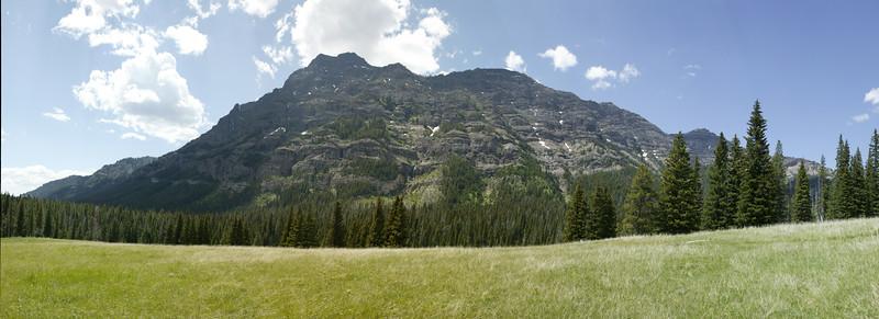 Barronette Peak Yellowstone Panorama