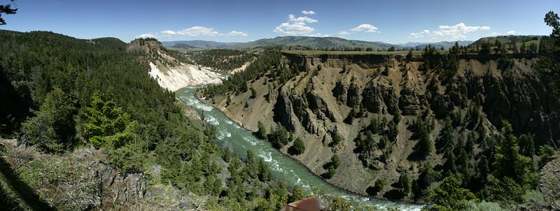 Yellowstone River overlook