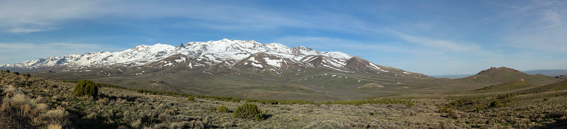 Ruby Mountains (east side) near Wells, NV