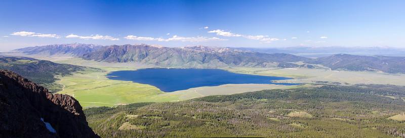 Henry's Lake from Sawtelle Peak, ID