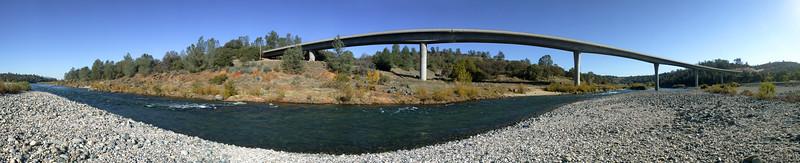 South Yuba River overpass