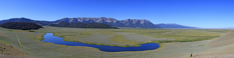 Culver Pond in RedRock Lakes National Wildife Refuge, Montana