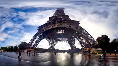 Crazy Pano of Eiffel