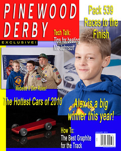 2010 Pinewood Derby Final Edition