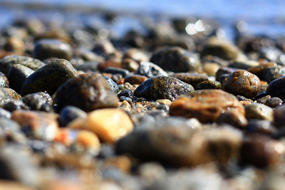 Beach Rocks and Sunlight