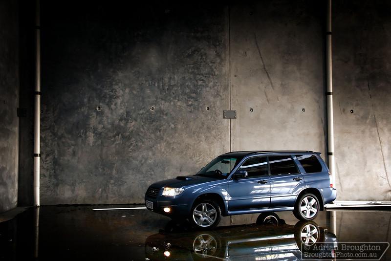 My MY07 Subaru Forester XT (in Newport Blue).