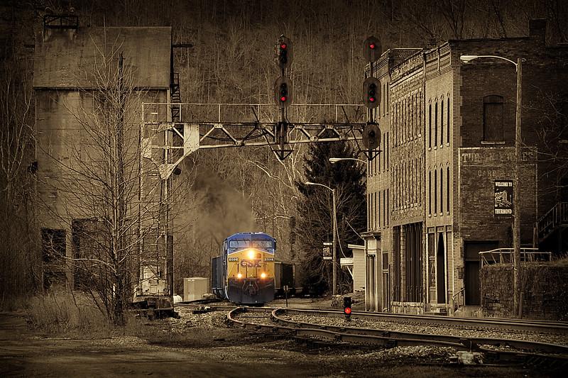 Train at Thurmond , WV