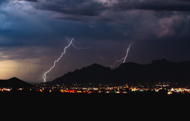 Lightning from San Xavier