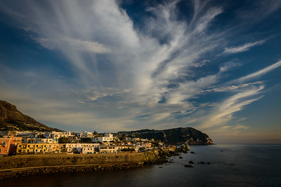 Sunset in Forio, Ischia