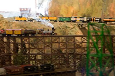 The Train Barn in Portage, MI