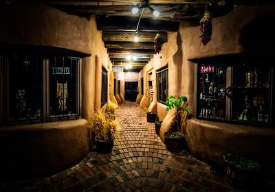 A street in Old Town Albuquerque