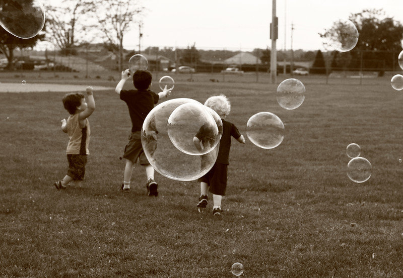 Boys and Bubbles