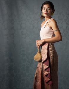 Tae Thai dress shoot