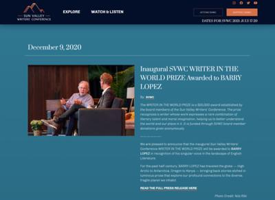SVWC - December 2020