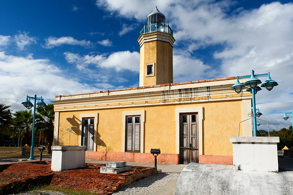 Low Angle View of the Point Figuras Lighthouse, Arroyo, Puerto Rico