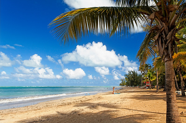 Beach View, Balneario Luquillo, Puerto Rico