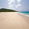 Pristine Sand of Zoni Beach, Culebra Island, Puerto Rico